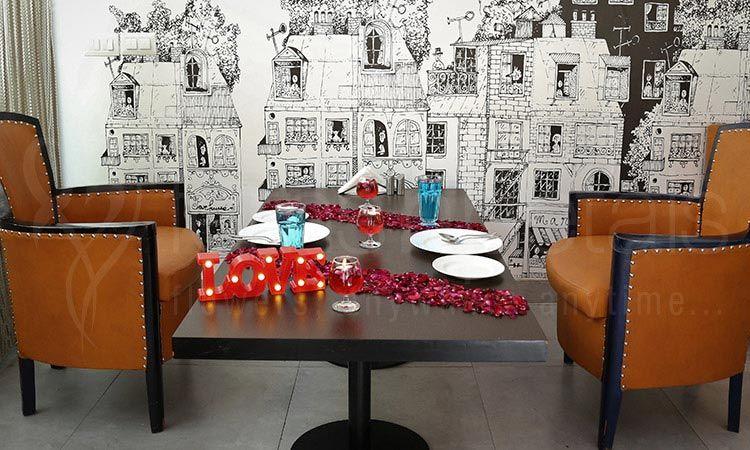 Romantic & Tranquil Fine Dining