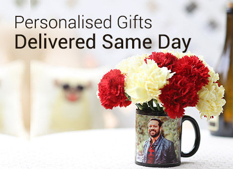 Personalize gifts online