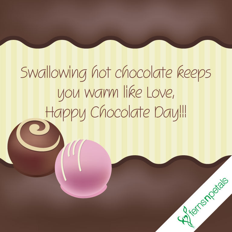chocolate day wishes for friend