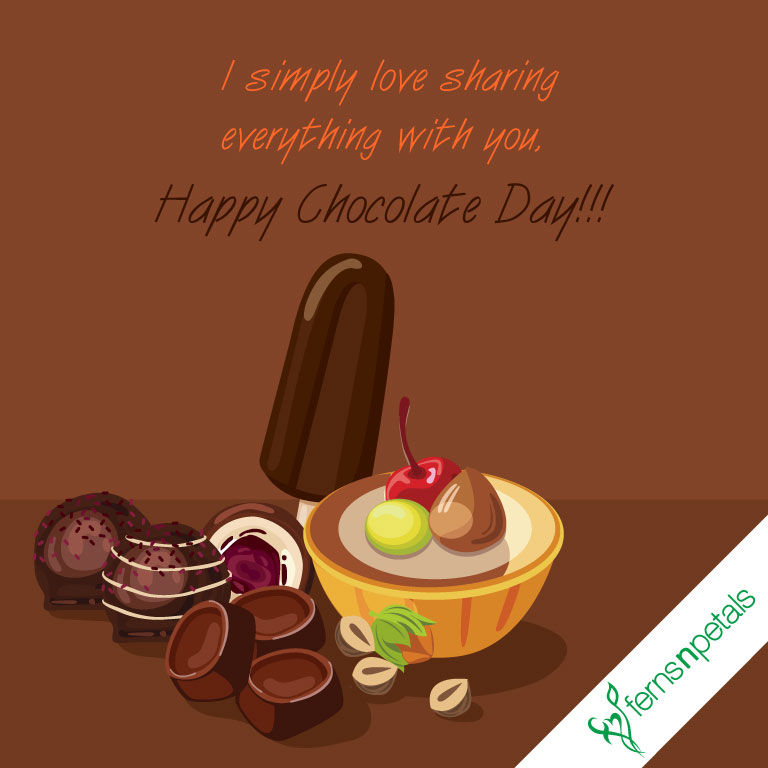 chocolate day love wishes