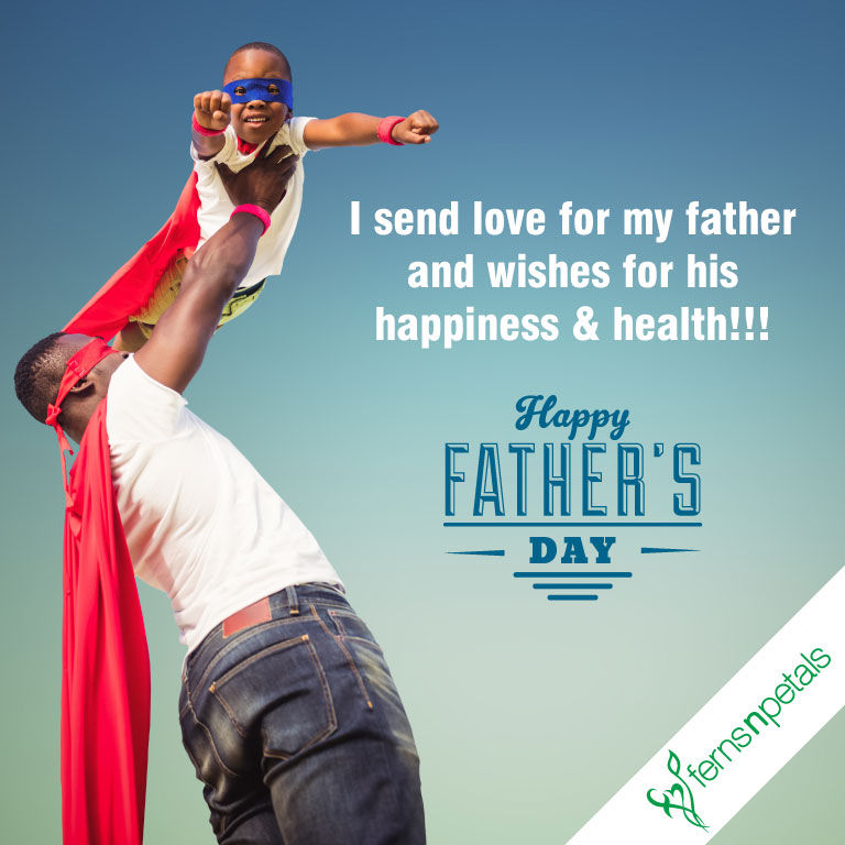 wishes for dad on fathers day