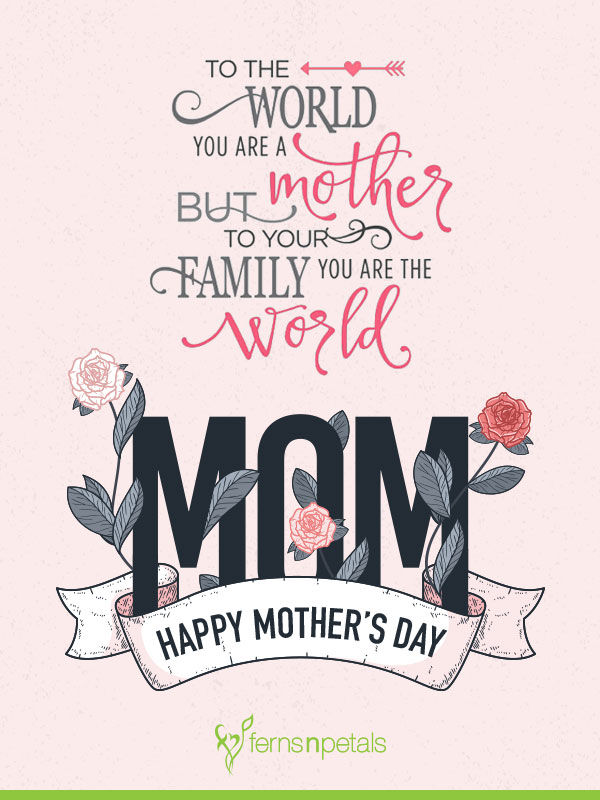 mothers day quotes for facebook