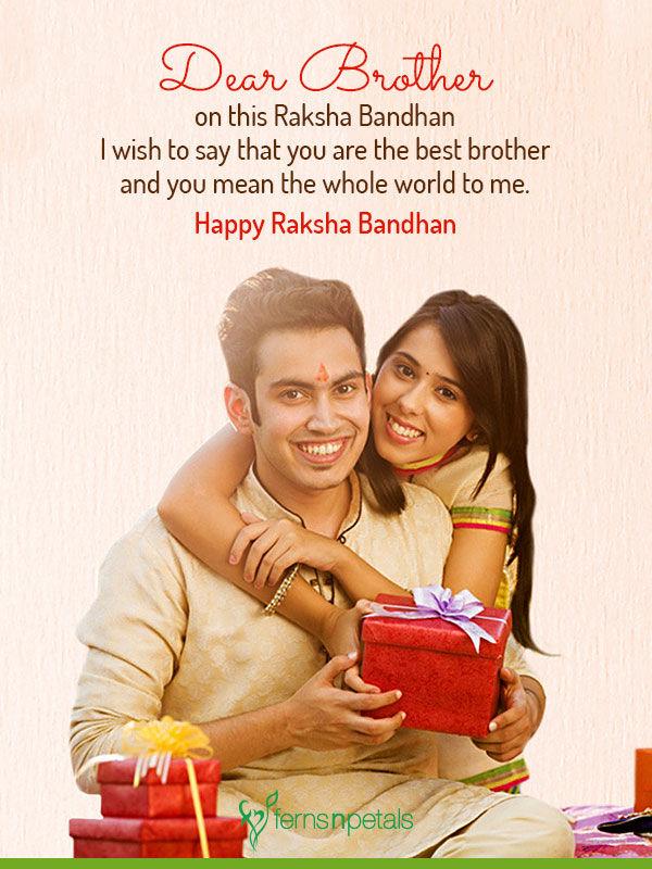 wishes for raksha bandhan
