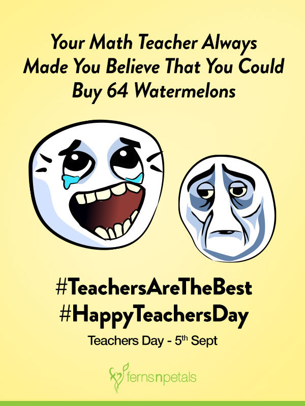 funny teachers day wishes