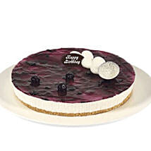 Fresh Blueberry Cheesecake: Valentine's Day Cake Delivery in Australia