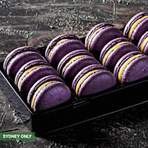 Fresh Passionfruit Macarons: Send Birthday Gifts to Australia