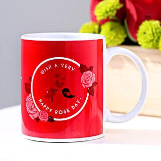 Happy Rose Day Mug: Personalised Mugs to Australia