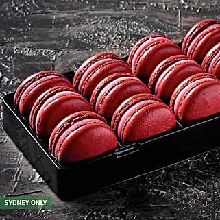 Redskin Macarons: Birthday Gifts to Australia