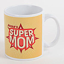 Super Mom Personalized Mug: Mothers Day gifts to Australia