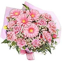 In the pink bouquet BGLD: Gifts to Bangladesh