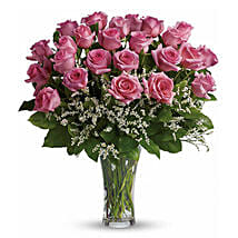24 Pink Roses: Gifts for Father in Canada