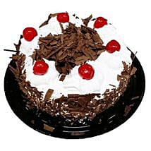 Black Forest Cake Half Kg: Romantic Gifts to Canada