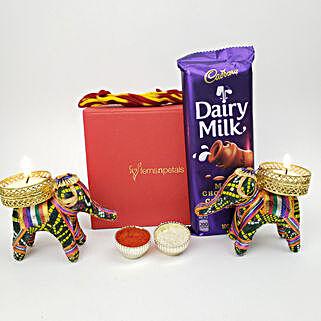 Cadbury Special Diwali Diyas Gift Set: Bhai Dooj Gifts in Canada