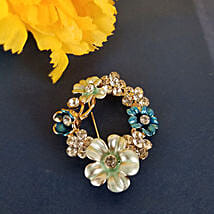 Glamorous Brooch: Rakhi Gifts for Sister in Canada