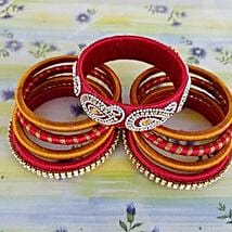Gorgeous Thread Bangles: Rakhi Gifts for Sister in Canada