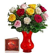 Mix Roses Bunch: Gifts for Her in Canada