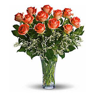 Orange Roses: Send Roses to Canada