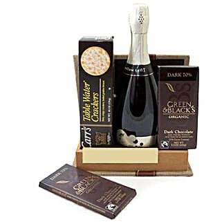 Sparkling Gourmet Quartet: Gift Baskets Delivery Canada