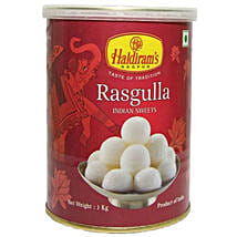 Squeezy Rasgulla 1 Kg: Send Sweets to Canada