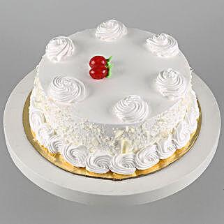 Vanilla Cake Half Kg: Send Birthday Cakes to Canada