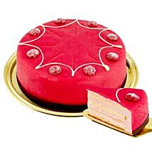 Dessert Raspberry Cake: Send Birthday Cake to Germany