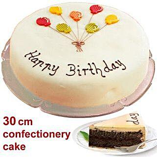 Large Poppy Seed Cake: Thank You