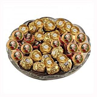 Mozart Rocher Platter: Send Bhai Dooj Gifts to Germany