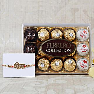 Veera Rakhi with Ferrero Rocher Collection: Rakhi to Munich