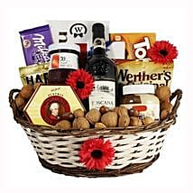 Classic Sweet Gift Basket: Corporate Gifts to Hungary