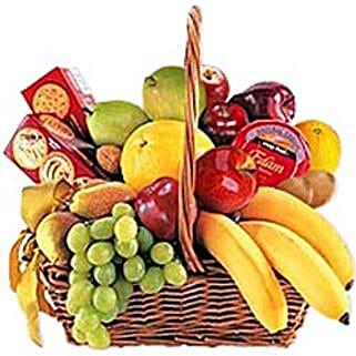 Cheese Crackers n Fruit Basket jor: Corporate Gifts to Jordan