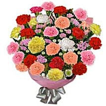 Carnation Carnival KWA: Bouquet Delivery in Kuwait