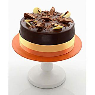 Enticing Dark Chocolate Cake: Christmas Cakes to Kuwait