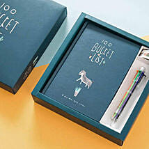 100 Bucket List Gift Box Green: Funny Gifts
