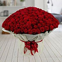 500 Red Roses Premium Bouquet: Gifts For Kiss Day
