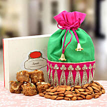 A Serene Surprise: Sweets & Dry Fruits for Diwali