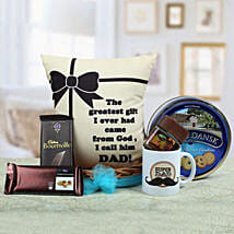 A Yummy Treat for Daddy: Send Gift Baskets to Bhopal
