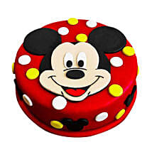 Adorable Mickey Mouse Cake: Cakes to Delhi