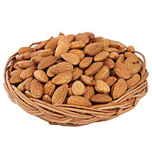 Almonds Basket: Karwa Chauth Gift Baskets