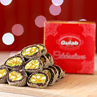 Anjeer Cake Box: Bhai Dooj Sweets