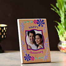Anniversary Personalised Plaque: Personalised gifts for anniversary