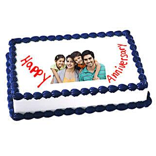 Anniversary Photo Cake: Photo Cakes for Anniversary