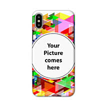 Apple iPhone X Customised Vibrant Mobile Case: Personalised Mobile Covers