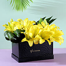 Asiatic Yellow Lilies: Send Lilies