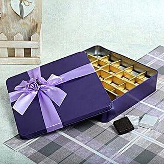Assorted Chocolates Purple Box: Chocolates Shopping India