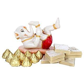 Bal Ganesha Combo: Send Handicraft Gifts to Mumbai