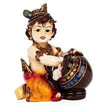 Bal Krishna Idol: Send Handicraft Gifts to Mumbai