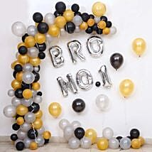 Balloon Decor For Brother No 1: Decoration Services in Hyderabad