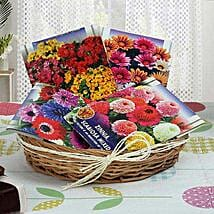 Basketful of Seeds: Send Organic Seeds