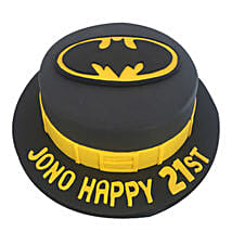 Batman Fondant Cake: Son