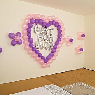 Beautiful Best Mom Ever Balloon Decor: Decoration Services in Mumbai